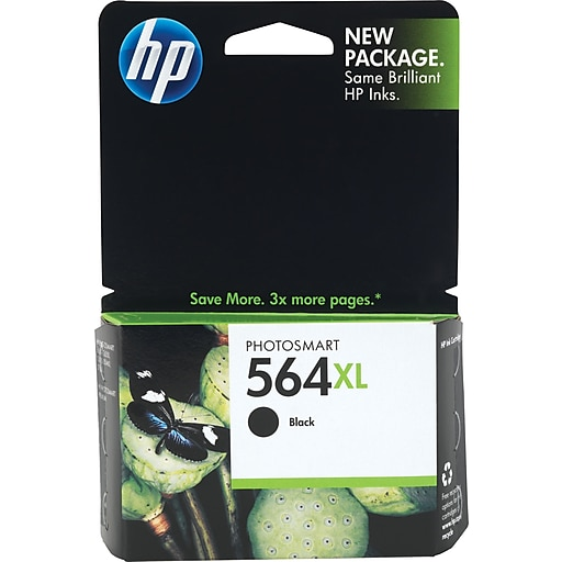 Hp 564xl Black Ink Cartridge High Yield Cn684wn140 Staples