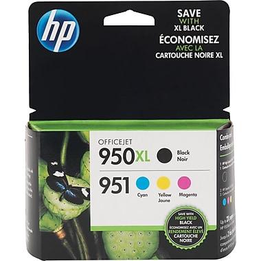 HP 950XL 951 Color Ink Cartridges C M Y Combo Pack
