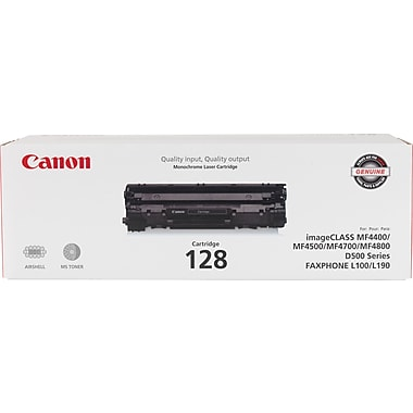 Canon 128 Black Toner Cartridge (3500B001AA)