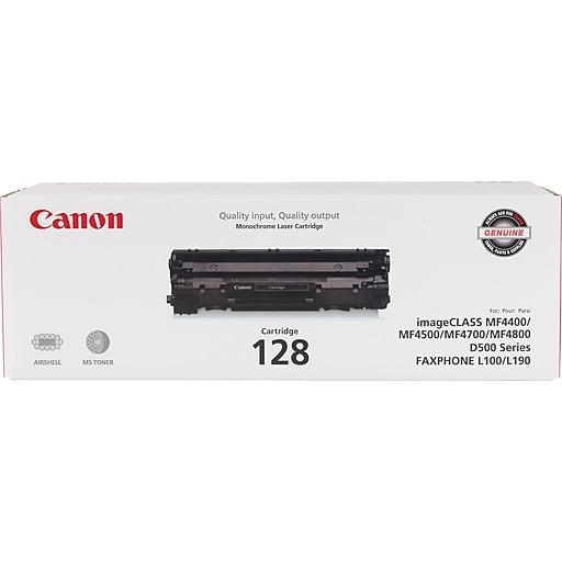Canon 128 Black Toner Cartridge 3500b001aa Staples