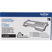 Brother Genuine TN450 Black High Yield Original Laser Toner Cartridge