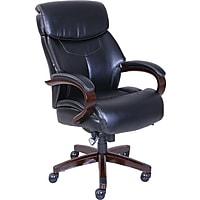 La-Z-Boy Bradley Bonded Leather Executive Chair (Black)