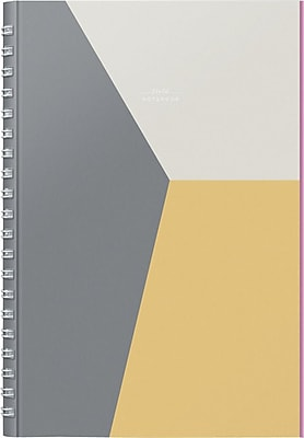 russell + hazel Field Notebook, Grey/Orange