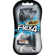 BIC® Flex 4™ Shaver for Men, 3/Pack (BICS4FMP31)