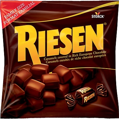 riesen chocolate covered caramels 245g