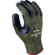Best Manufacturing Company Black & Yellow Open Back 12 / Pack Palm Coated Gloves, Medium