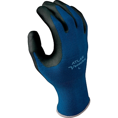 Best Manufacturing Company Black & Blue Strongest Grip 1 Pair Ventulus Gloves, L