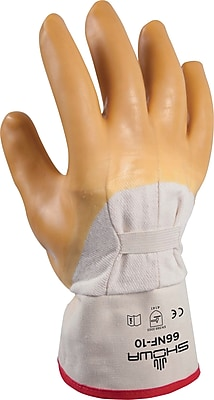 Best Manufacturing Company Palm Coated 1 pair Natural Coated Gloves, Smooth