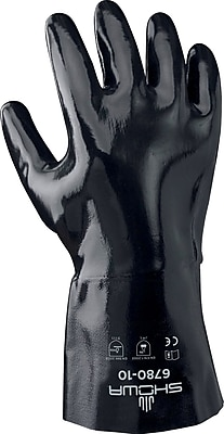 Best Manufacturing Company Black Rough Grip 1 Pair Neo Grab Gloves, 12 inch