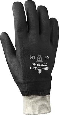 Best Manufacturing Company Black Provides Protection from Chemicals Washable Glove