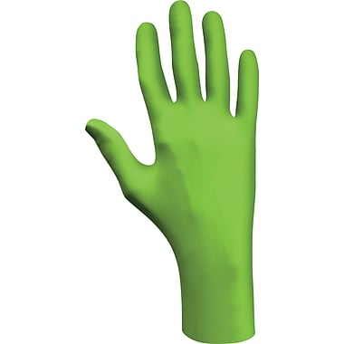 Best Manufacturing Company Green 1 Pair Powder-Free Disposable Gloves, XL
