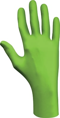 Best Manufacturing Company Green 1 Pair Powder-Free Disposable Gloves, L