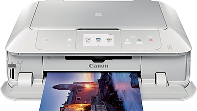 Canon PIXMA MG7720 Inkjet All-in-One Printer, White (0596C022)