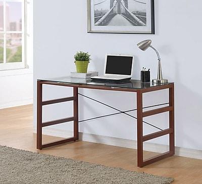 Burton Desk with Glass Top