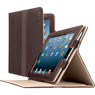 Solo Ascent Leather Case for iPad, Brown