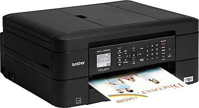 Brother MFCJ480DW Color Inkjet AllinOne Printer Staples