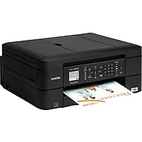 Brother MFC-J480DW Color Inkjet All-In-One Printer with Duplex (Black)