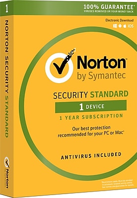 Norton Security Standard (1 User) [Product Key Card]