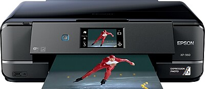 Epson Expression XP-960 Wireless Inkjet Photo Printer, Multifunction