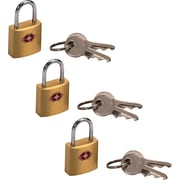 Travel Sentry® Mini Padlock, 3-Pack