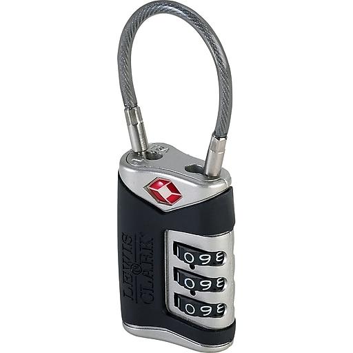 Travel Sentry Cable Lock Black