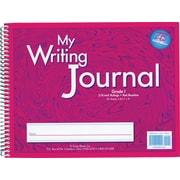 "Writing Journal, Liquid Color, 3/8"" ruling, Grades 4+, Green 10.5"" x 8.25"" (ELP0604)"