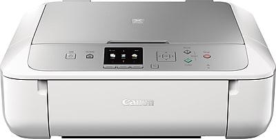 Canon® PIXMA® MG5722 Wireless Multifunction Color Inkjet Printer Silver/White (0557C062AA)