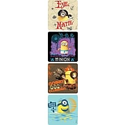 SandyLion Minions Stickers, 250 per Roll, Assorted Colors, 2.5'' Diameter (MM8003)