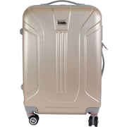 InUSA Boston Collection Gold lightweight ABS 21.7 inch Luggage (IUBOS00M-GLD)