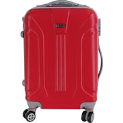 InUSA Boston Collection Red lightweight ABS 18.3 inch Carry-On Luggage (IUBOS00S-RED)