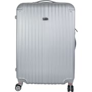 InUSA Los Angeles Collection Silver lightweight ABS 26 inch Luggage (IULAX00B-SIL)