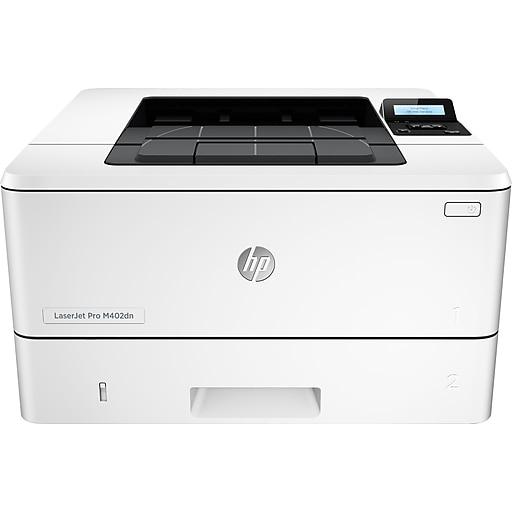 HP LaserJet Pro M402dn Laser Printer with Built-In Ethernet & Duplex  Printing (C5F94A)