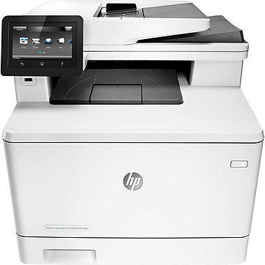 HP Color LaserJet Pro M477fdn All-In-One Laser Printer with Built-In  Ethernet & Duplex Printing (CF378A)