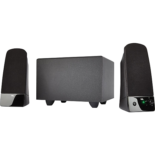 Cyber Acoustics CA-3051 2.1 Speaker System with Subwoofer, 14 W