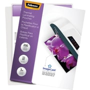 Fellowes® Thermal Laminating Pouches; Letter, ImageLast, 3mil, 200 pack