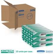 "Kimberly-Clark ® Kimtech Science ® Kimwipes ® Task Wipe, Unscented, White, 16.6""(W) x 14.7""(L)"