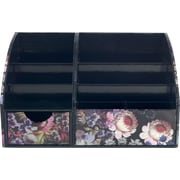 Cynthia Rowley Desktop Organizer, Cosmic Back Floral