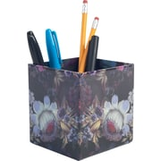Cynthia Rowley Pencil Cup, Cosmic Black Floral