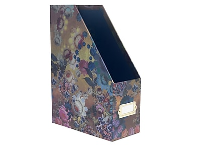 Cynthia Rowley Magazine File, Gilded Gold Floral