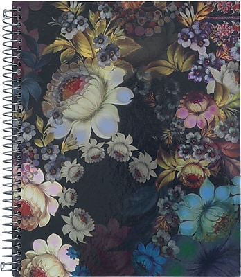 Cynthia Rowley Notebook, Cosmic Black Floral