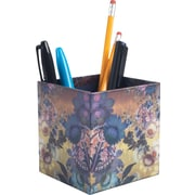 Cynthia Rowley Pencil Cup, Gilded Gold Floral