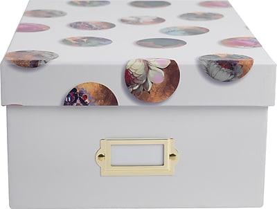 Cynthia Rowley Desktop Storage Box, Celestial Dot