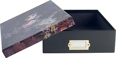 Cynthia Rowley Document Box, Cosmic Black Floral