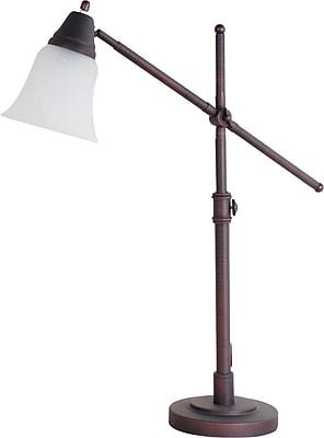 Reddish CFL Desk Lamp