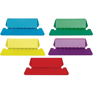 Staples® Plastic Assorted Tabs, 2
