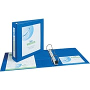 "Avery(R) Framed View Binder with 2"" One Touch EZD(TM) Rings 68034, Blue"