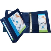 "Avery(R) Framed View Binder with 2"" One Touch EZD(TM) Rings 68033, Navy Blue"
