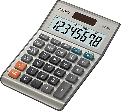 Casio® MS-80B 8-Digit Display Calculator