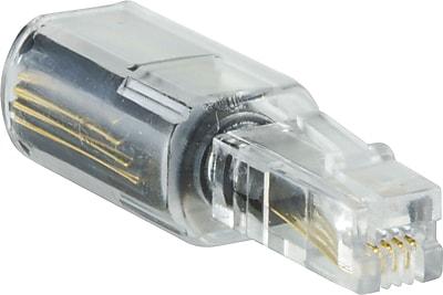 GE Cord Management, GE Telephone Cord Detangler Adapter, Black