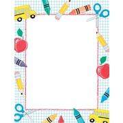 Great Papers® School Stuff Letterhead 80 count